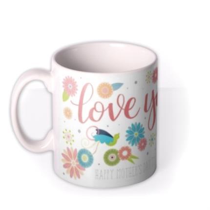 Mugs - Mother's Day Love Personalised Mug - Image 1