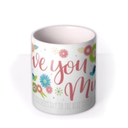Mugs - Mother's Day Love Personalised Mug - Image 3