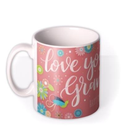 Mugs - Mother's Day Grandma Personalised Mug - Image 1