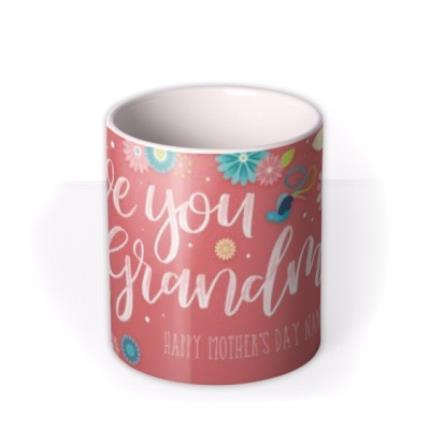 Mugs - Mother's Day Grandma Personalised Mug - Image 3