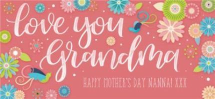 Mugs - Mother's Day Grandma Personalised Mug - Image 4