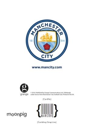 Greeting Cards - Manchester City Football Happy Father's Day Card - Image 4