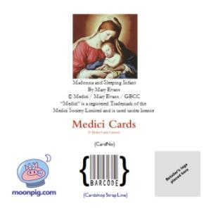 Greeting Cards - Mary And Baby Jesus Traditional Christmas Card - Image 4
