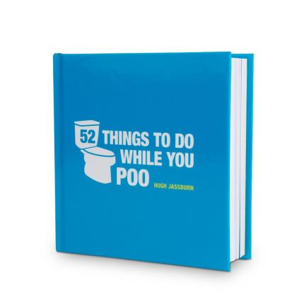 Gadgets & Novelties - 52 Things To Do While You Poo Book and Chocolate Gift Set - Image 3