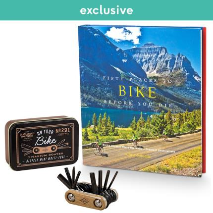 Gadgets & Novelties - Bicycle Repair Kit and Book Gift Set - Image 1