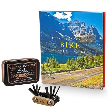 Gadgets & Novelties - Bicycle Repair Kit and Book Gift Set - Image 2