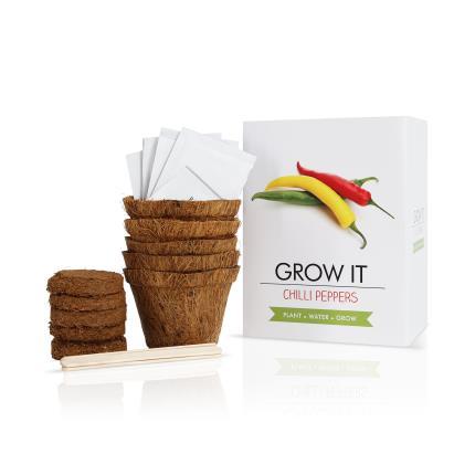 Gadgets & Novelties - Grow It Chilli Peppers Set - Image 1