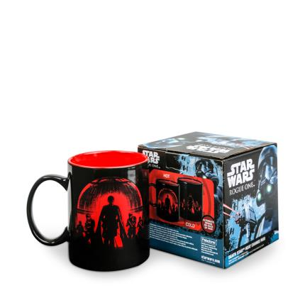 Gadgets & Novelties - Rogue One Death Star Heat Changing Mug WAS £8 NOW £6 - Image 1