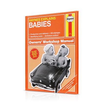 Gadgets & Novelties - Haynes Manual on Babies - Image 1
