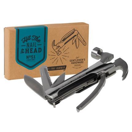 Gadgets & Novelties - Gentlemen's Hardware Hammer Multi Tool  - Image 1