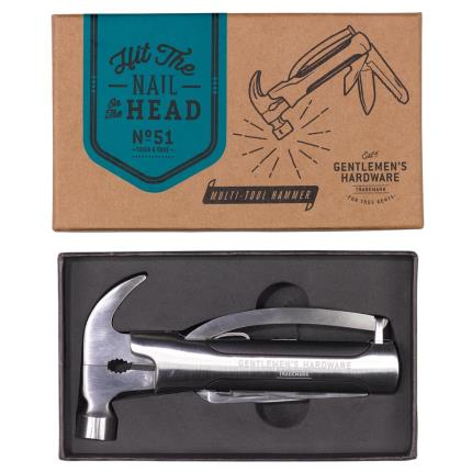 Gadgets & Novelties - Gentlemen's Hardware Hammer Multi Tool  - Image 2