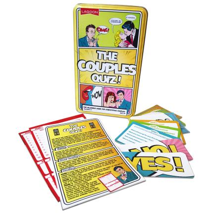 Gadgets & Novelties - The Couples Quiz Game - Image 2
