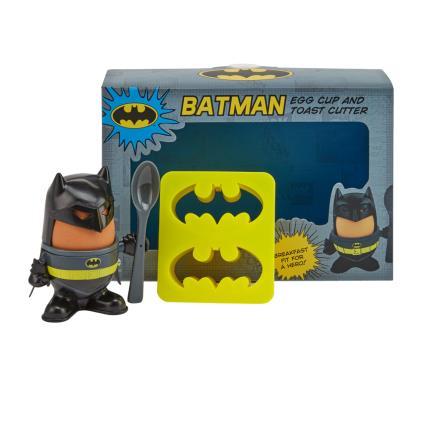 Gadgets & Novelties - Batman Egg Cup & Toast Cutter - Image 1