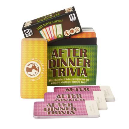 Gadgets & Novelties - After Dinner Trivia - Image 1