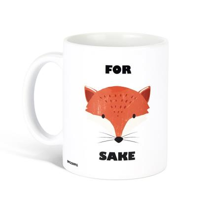 Gadgets & Novelties - For Fox Sake Mug - Image 1