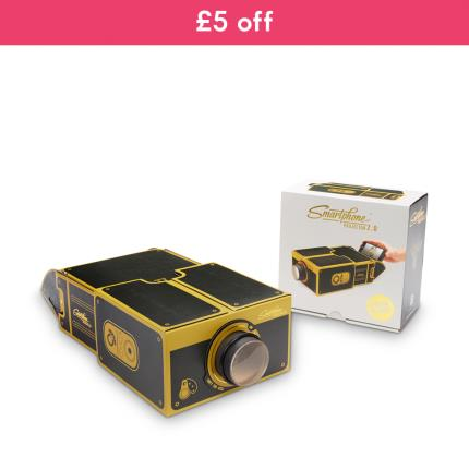 Gadgets & Novelties - Smart Phone Projector 2.0 (Black & Gold Edition) WAS £20 NOW £15 - Image 1