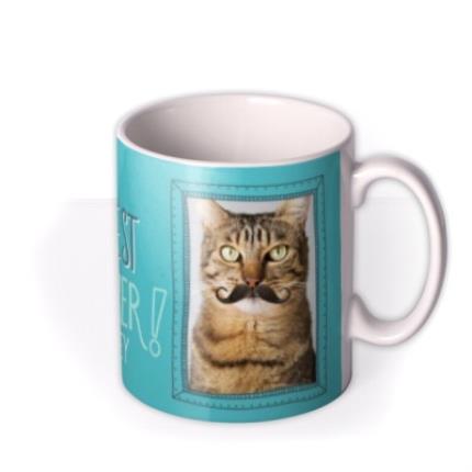 Mugs - Custom You're The Best Pet Dad Ever Photo Mug - Image 2