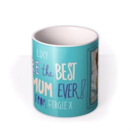 Mugs - Mother's Day Best Pet Mum Photo Upload mug - Image 3