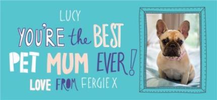 Mugs - Mother's Day Best Pet Mum Photo Upload mug - Image 4