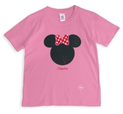 T-Shirts - Disney Minnie Mouse Silhouette T-Shirt - Image 1