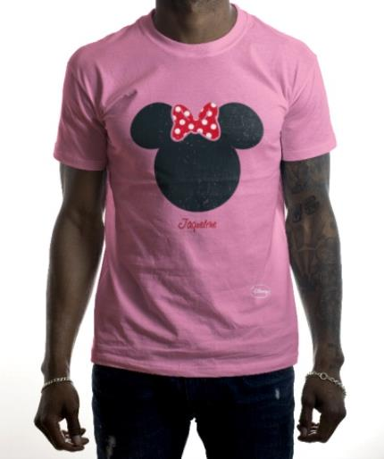 T-Shirts - Disney Minnie Mouse Silhouette T-Shirt - Image 2