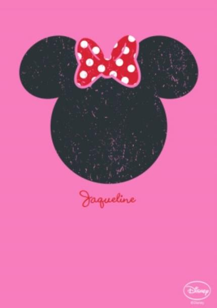 T-Shirts - Disney Minnie Mouse Silhouette T-Shirt - Image 4