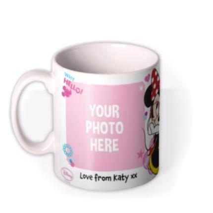 Mugs - Disney Minnie Mouse Double Photo Upload Mug - Image 1