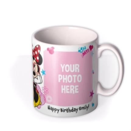 Mugs - Disney Minnie Mouse Double Photo Upload Mug - Image 2