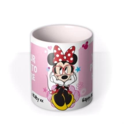 Mugs - Disney Minnie Mouse Double Photo Upload Mug - Image 3