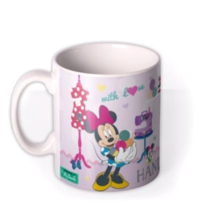 Mugs - Minnie Mouse Handmade Photo Upload Mug - Image 1