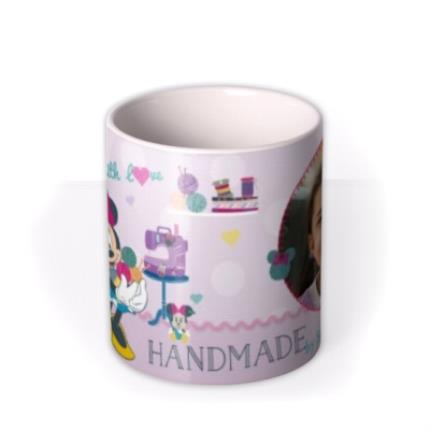 Mugs - Minnie Mouse Handmade Photo Upload Mug - Image 3
