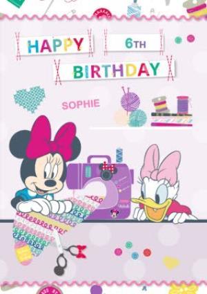 Disney Minnie Mouse And Daisy Duck Happy Birthday Card