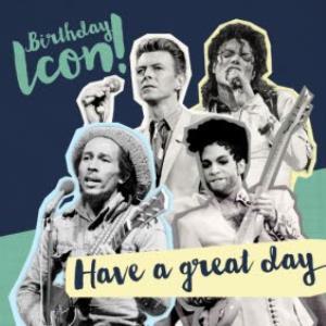 Greeting Cards - Birthday Icon Card - Image 1