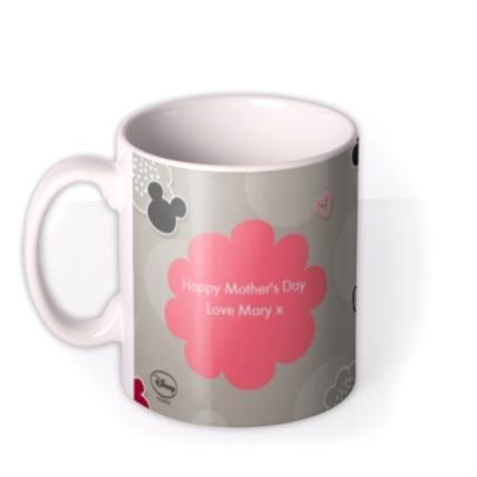 Mugs - Disney Minnie Mouse Beautiful Mum Personalised Mug - Image 1