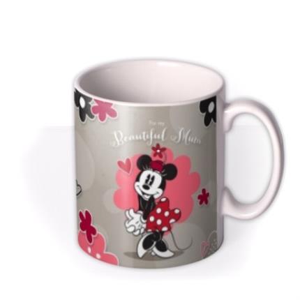 Mugs - Disney Minnie Mouse Beautiful Mum Personalised Mug - Image 2