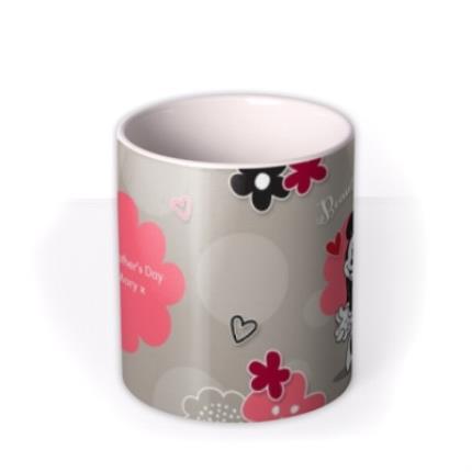 Mugs - Disney Minnie Mouse Beautiful Mum Personalised Mug - Image 3