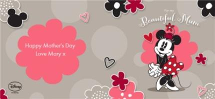 Mugs - Disney Minnie Mouse Beautiful Mum Personalised Mug - Image 4