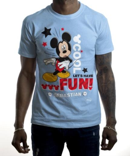 T-Shirts - Mickey Mouse Cool, Let's Have Fun Personalised T-shirt - Image 2