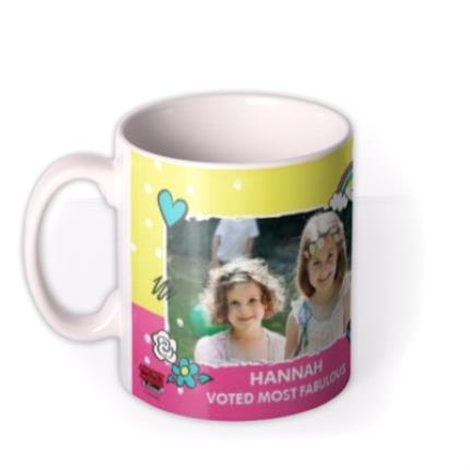 Mugs - Disney Minnie Mouse Neon Bright Custom Photo Mug - Image 1