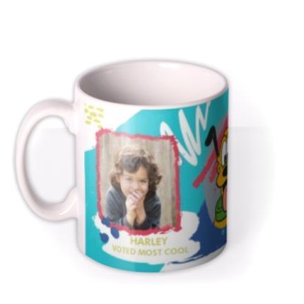 Mugs - Disney Mickey And Pluto Colourful Custom Photo Mug - Image 1