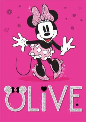Greeting Cards - Minnie Mouse Card - Image 1