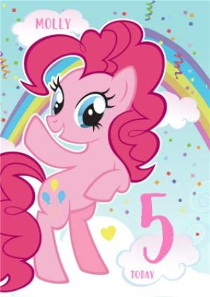 Greeting Cards - 5th Birthday Card - My Little Pony - Image 1