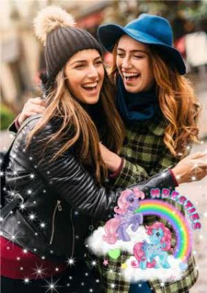 Greeting Cards - Besties Birthday Card - My Little Pony - Image 1