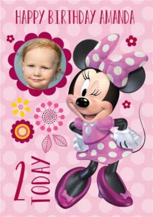 Greeting Cards - Minnie Mouse Birthday Card - Image 1