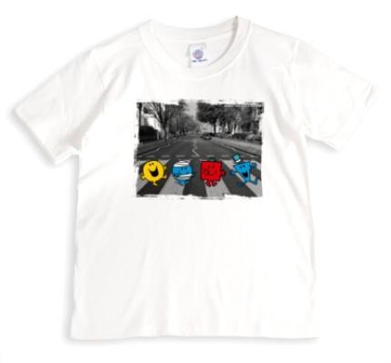 T-Shirts - Mr Men Zebra Crossing T-Shirt - Image 1