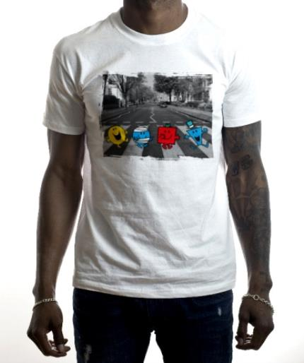 T-Shirts - Mr Men Zebra Crossing T-Shirt - Image 2