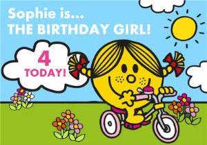 Greeting Cards - Little Miss Sunshine Birthday Card - Image 1