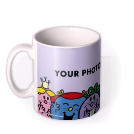 Mugs - Little Miss Purple Photo Upload Mug - Image 1