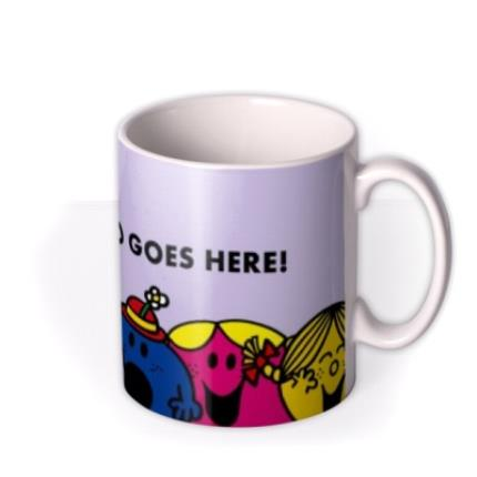 Mugs - Little Miss Purple Photo Upload Mug - Image 2