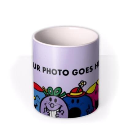 Mugs - Little Miss Purple Photo Upload Mug - Image 3